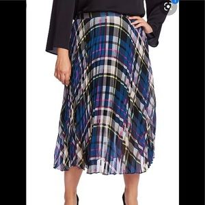 Vince Camuto plus size knife edge pleated skirt